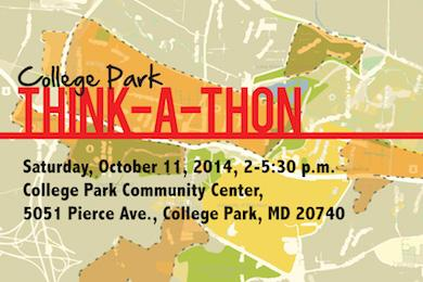 COLLEGE PARK THINK-A-THON